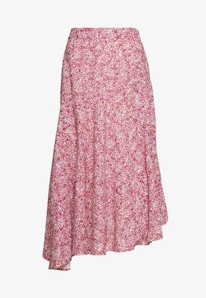 REIANA SKIRT - Áčková sukně - pink/multi