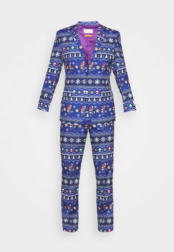 MERRY MARIO SET - Suit - blue
