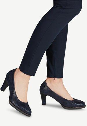 Classic heels - navy structure