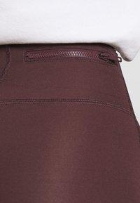Jordan - ESSENTIAL - Leggings - Trousers - mahogany/gold - 3