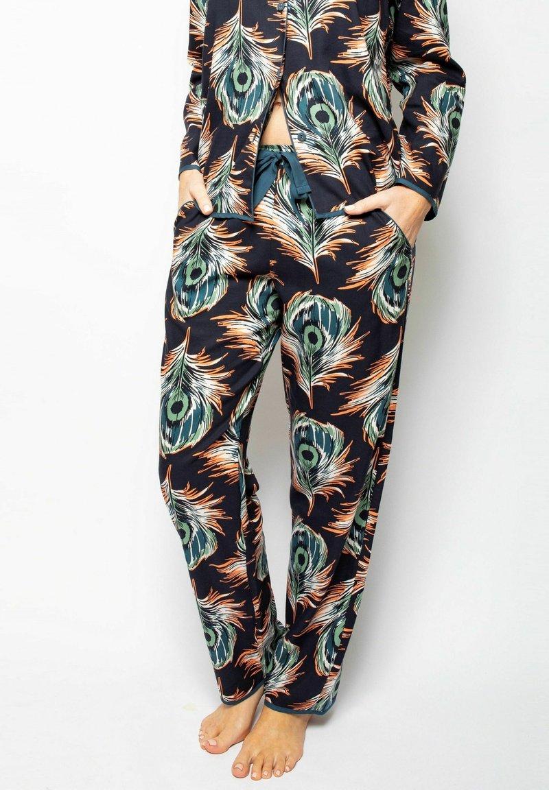 Cyberjammies - Pyjama bottoms - peacock