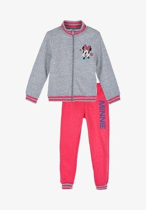 SET - Zip-up hoodie - grau