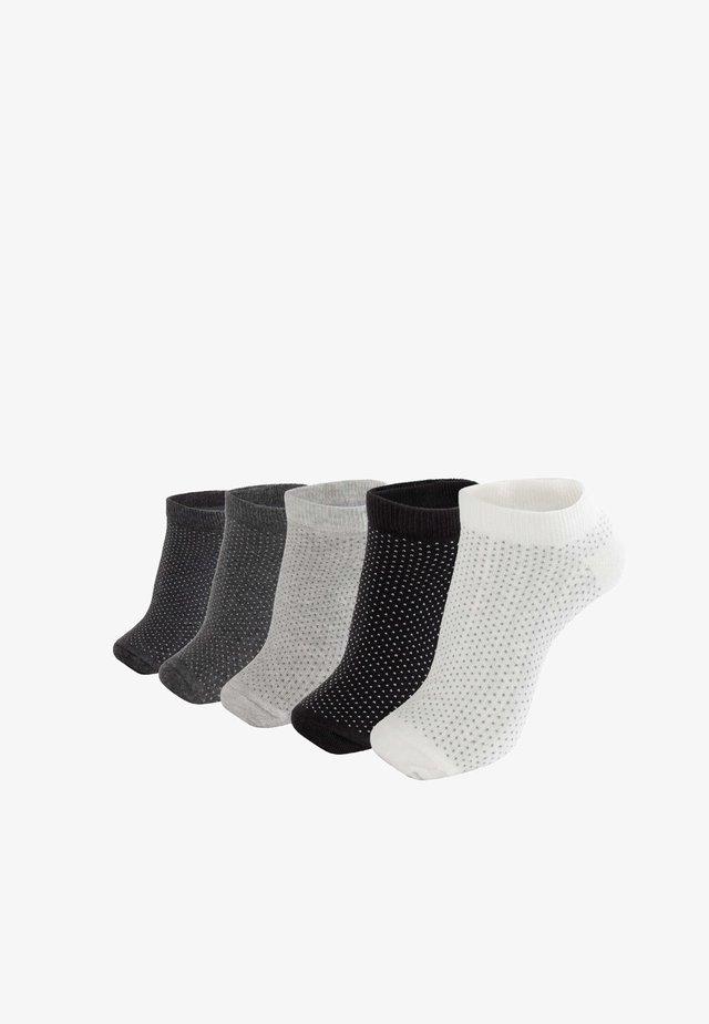 5PACK - Ponožky - black