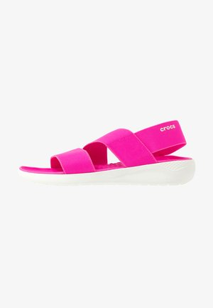 LITERIDE STRETCH  - Pantoffels - electric pink/almost white