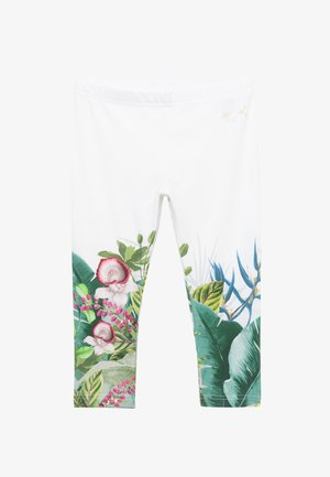 SALINAS - Leggings - Trousers - white