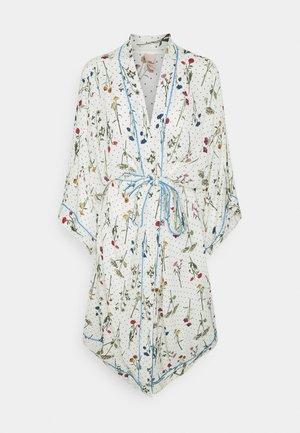 CHAMP DE FLEUR LIBERTE KIMONO - Dressing gown - whitecap gray