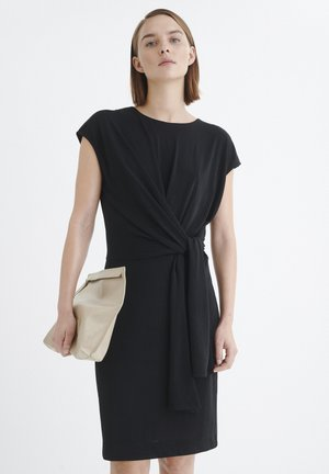 KETTYIW - Vestito di maglina - black