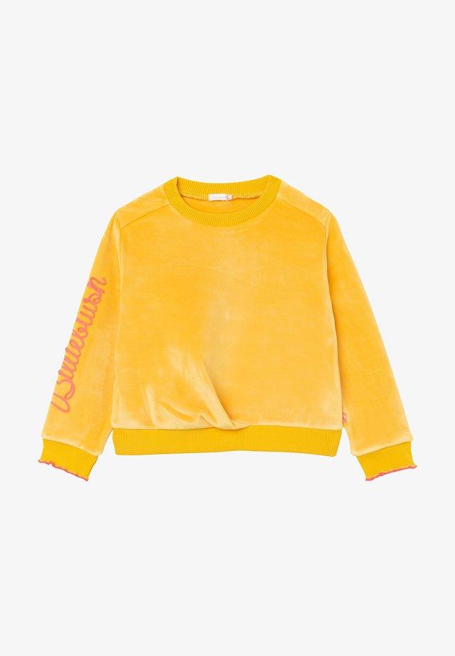Sweatshirt - camomille