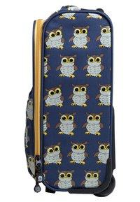 pick & PACK - OWL - Wheeled suitcase - blue - 2