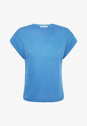 CLEO - Jednoduché triko - bright blue