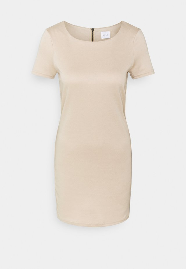 VITINNY NEW DRESS - Jerseyjurk - sand