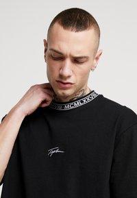 Topman - TEE - T-shirt con stampa - black - 4