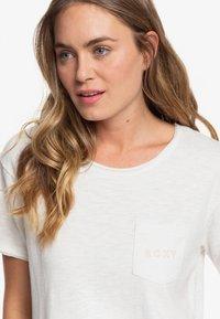 Roxy - STAR SOLAR - Print T-shirt - snow white - 3