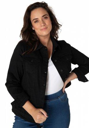 MADIA - Denim jacket - maggie black/black