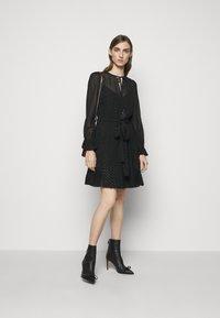 MICHAEL Michael Kors - TASSLE DRESS - Cocktail dress / Party dress - black - 1