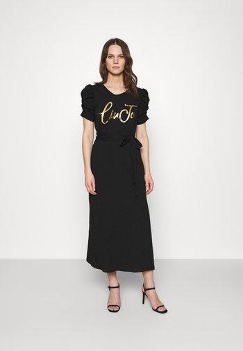 ABITO UNITA - Jersey dress - nero