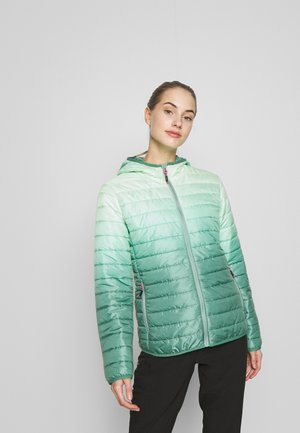 WOMAN JACKET FIX HOOD - Lehká bunda - neptune