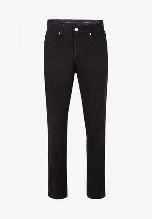 MIT HIGH STRETCH - Straight leg jeans - black