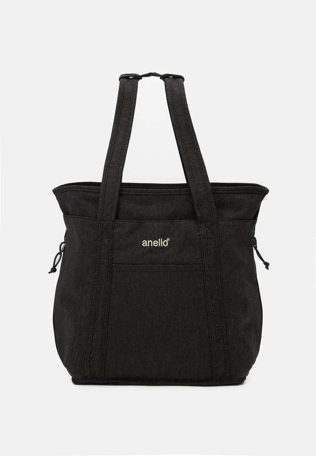 2WAY TOTE BACKPACK UNISEX - Rugzak - black