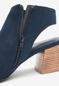 Next - Sandały z cholewką - dark blue - 3
