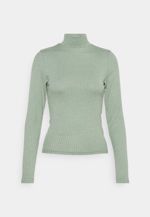 MILA MOCK NECK LONG SLEEVE - Long sleeved top - mountain sage marle
