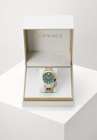 Versace Watches - HELLENYIUM - Watch - green/silver-coloured - 2