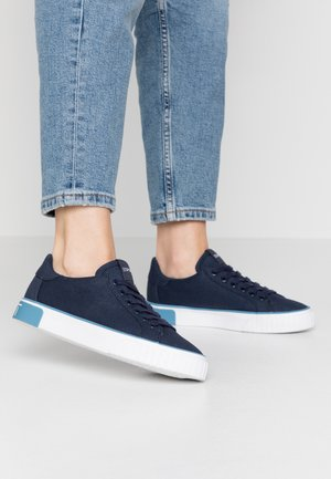 PAMELA LACE UP - Trainers - navy