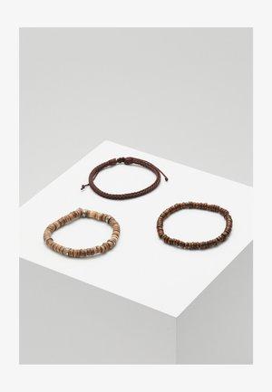 TABANAN COMBO 3 PACK - Bracelet - brown
