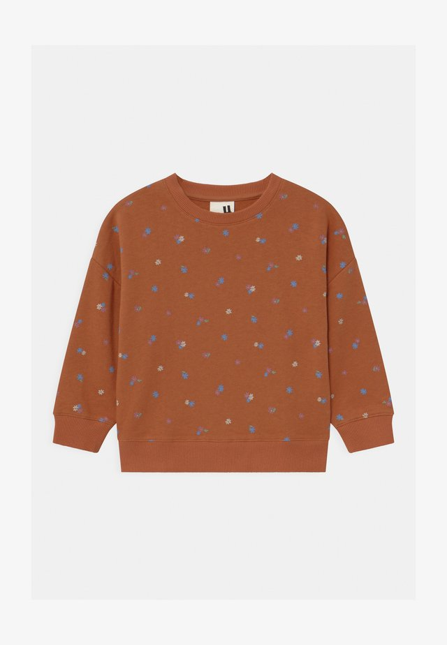 SAGE CREW - Sweater - amber brown