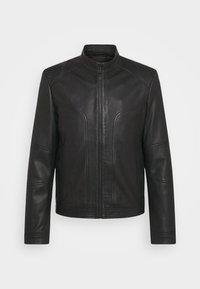 HUGO - LONOS - Leather jacket - black - 6