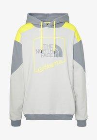 The North Face - EXTREME HOODIE - Hoodie - tin grey/mid grey/lemon - 4