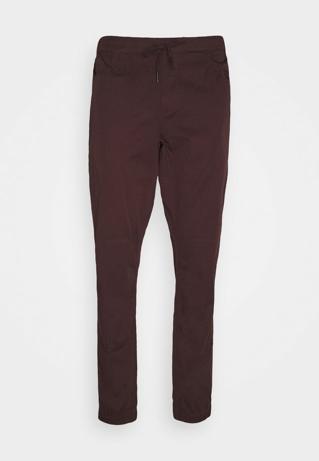 NOTION PANTS - Trousers - port