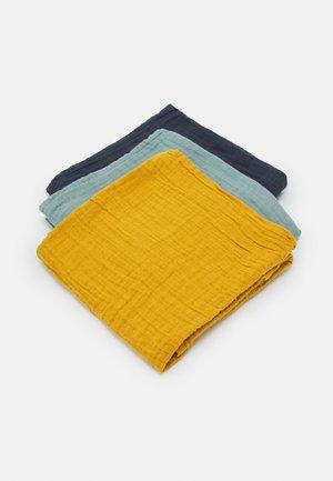 SWADDLE BURP BLANKET UNISEX 3 PACK - Harsoliina - multi-coloured