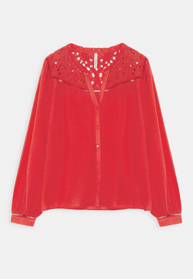 CARINA - Bluser - mars red