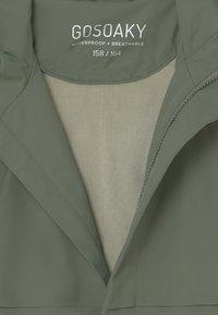 Gosoaky - DESERT FOX UNISEX - Vodotěsná bunda - sea grass - 2