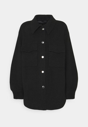 HAZEL SCALE UP - Short coat - black