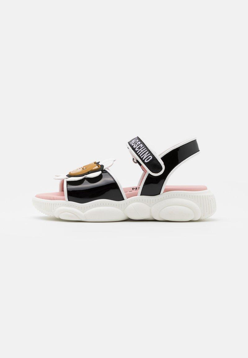 MOSCHINO - Sandals - black