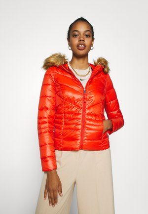 VMSORAYASIV HOODY JACKET - Lett jakke - red clay