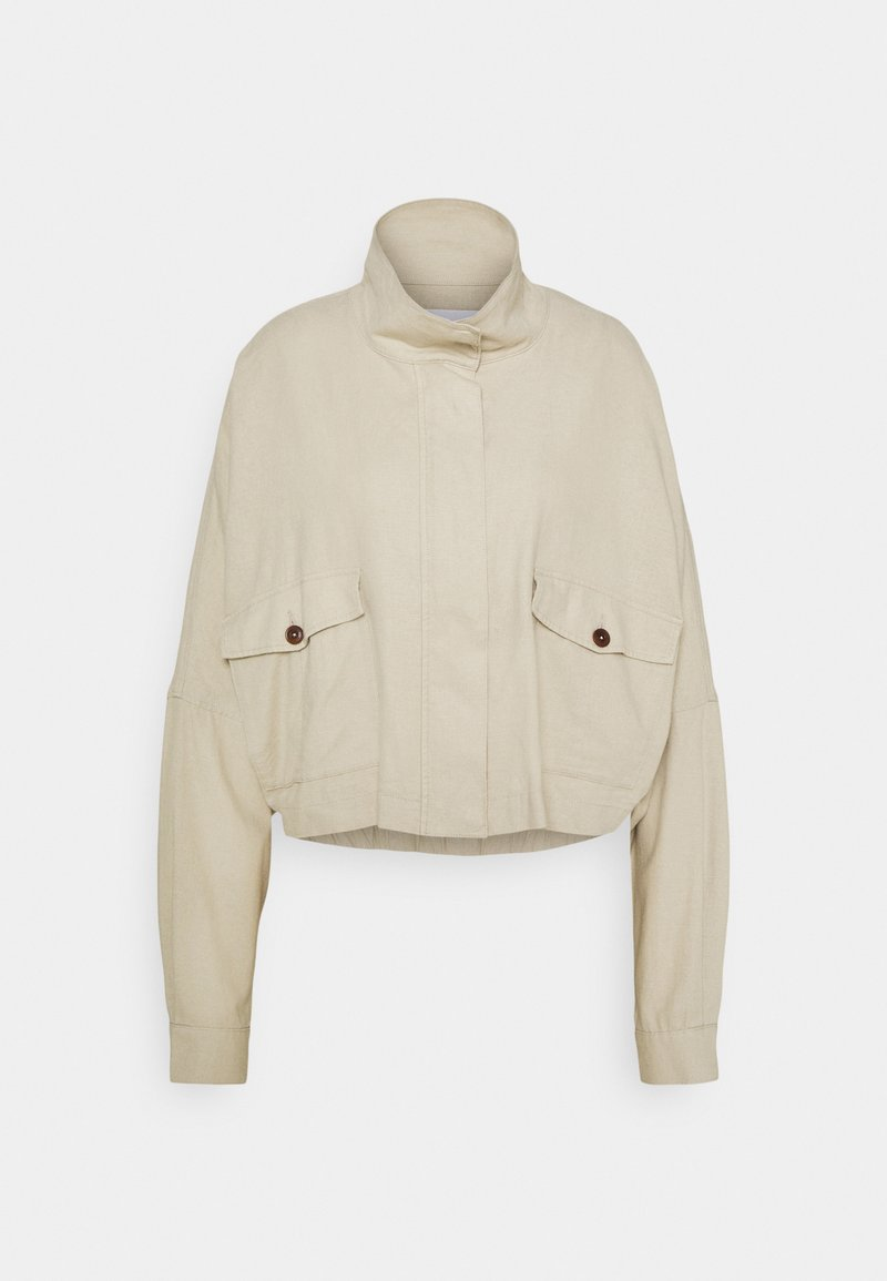 CLOSED - HYENA - Lehká bunda - shiitake