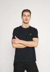 Pier One - Basic T-shirt - black - 0