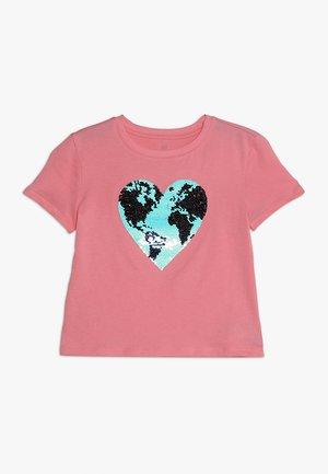 GIRLS TEE - Print T-shirt - pink