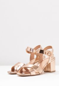 New Look Wide Fit - WIDE FIT TUCKER - Sandals - rose gold - 4