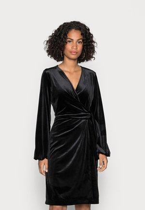 GORIEL WRAP DRESS - Cocktail dress / Party dress - black