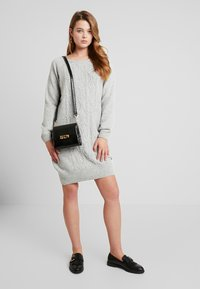 Sea Ranch - ANNET DRESS - Jumper dress - grey melange - 1
