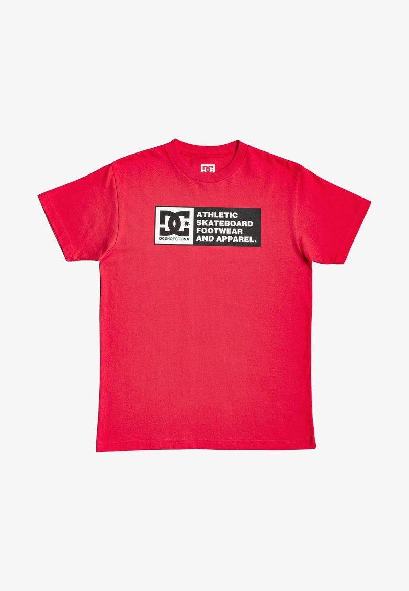 DC Shoes - Print T-shirt - racing red
