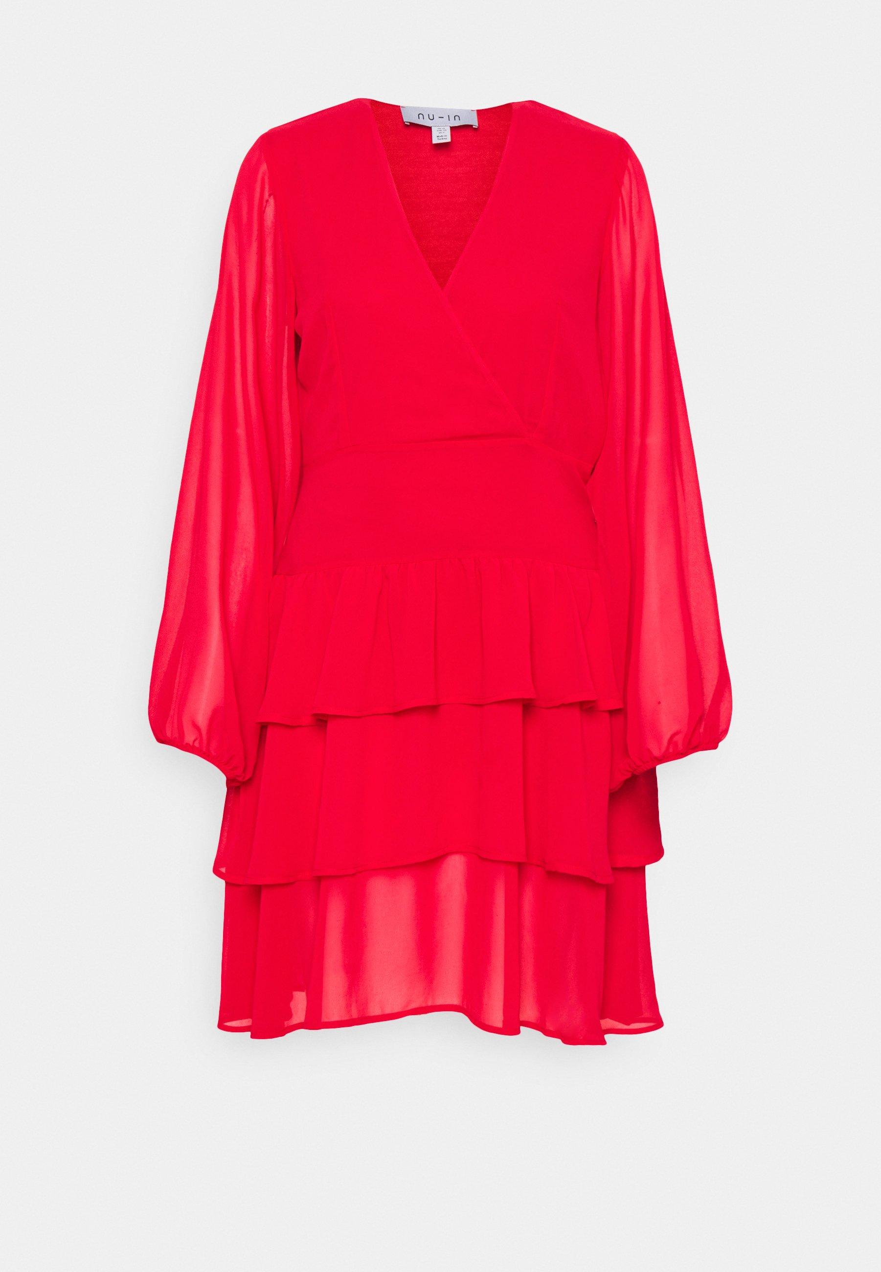 Women FRILL DRESS - Day dress