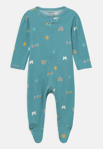 TEXUTRED - Sleep suit - blue
