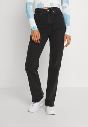 KAORI - Jeansy Relaxed Fit - black dark