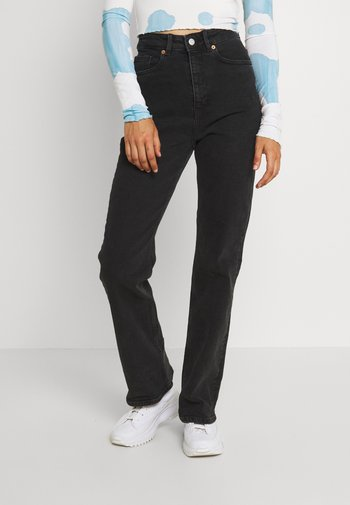KAORI - Jeans relaxed fit - black dark