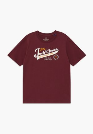 JJELOGO - Print T-shirt - port royale